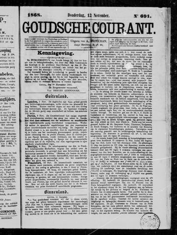 Goudsche Courant 1868-11-12