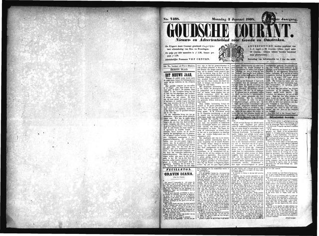 Goudsche Courant 1898