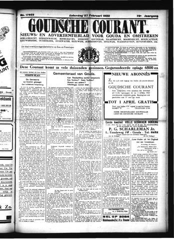 Goudsche Courant 1932-02-27