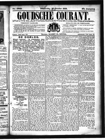 Goudsche Courant 1918-10-10