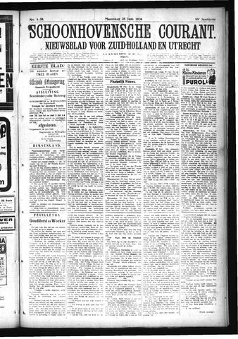 Schoonhovensche Courant 1926-06-28