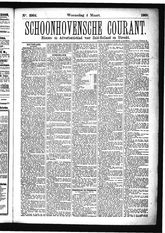 Schoonhovensche Courant 1908-03-04