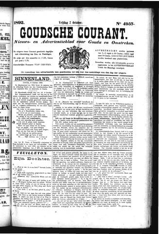 Goudsche Courant 1892-10-07