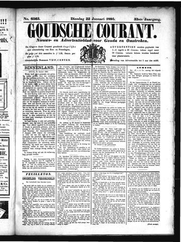 Goudsche Courant 1895-01-22