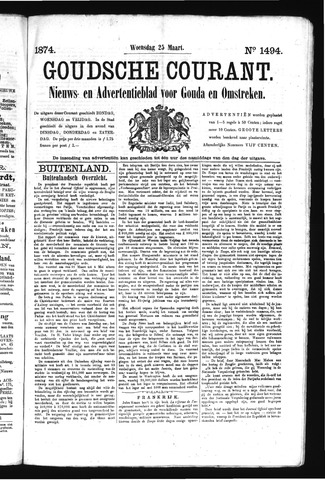 Goudsche Courant 1874-03-25