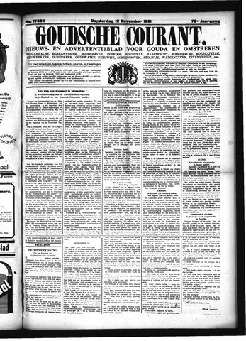 Goudsche Courant 1931-11-12