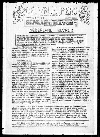 De Vrije Pers 1945-05-05