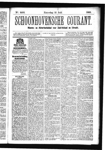 Schoonhovensche Courant 1903-07-11