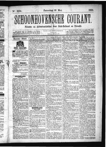 Schoonhovensche Courant 1910-05-21