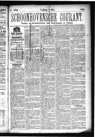 Schoonhovensche Courant 1916-05-05