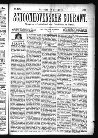 Schoonhovensche Courant 1893-12-30