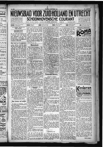 Schoonhovensche Courant 1929-09-09