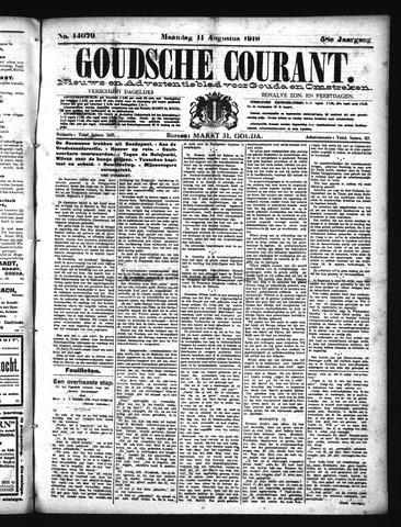 Goudsche Courant 1919-08-11
