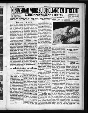 Schoonhovensche Courant 1938-05-25