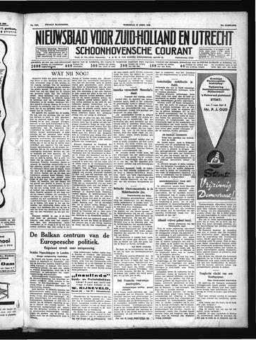 Schoonhovensche Courant 1939-04-12