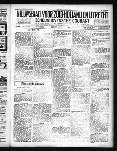 Schoonhovensche Courant 1935-01-21
