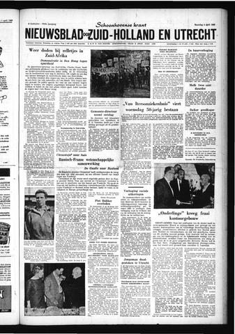 Schoonhovensche Courant 1960-04-04