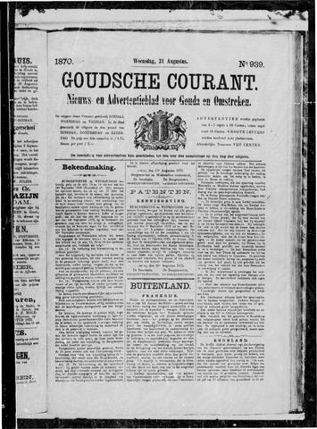 Goudsche Courant 1870-08-31