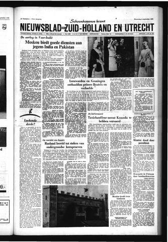Schoonhovensche Courant 1965-09-08