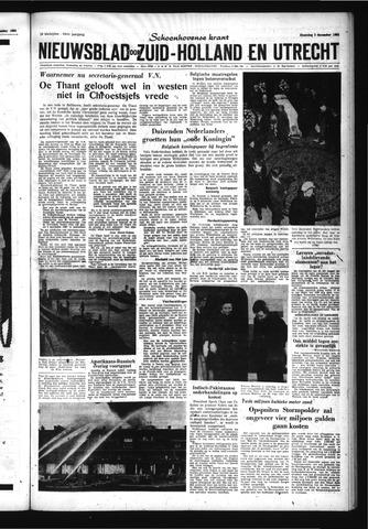 Schoonhovensche Courant 1962-12-03