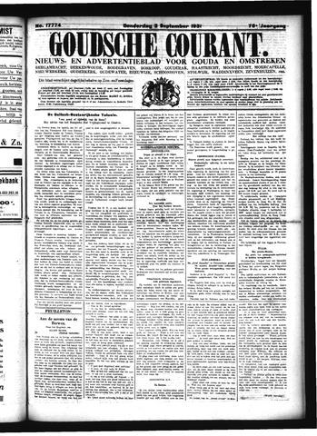 Goudsche Courant 1931-09-03