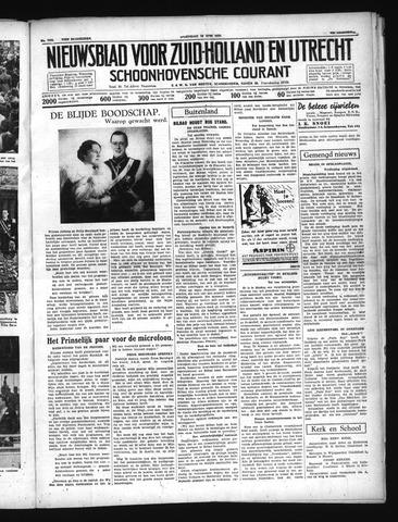 Schoonhovensche Courant 1937-06-16