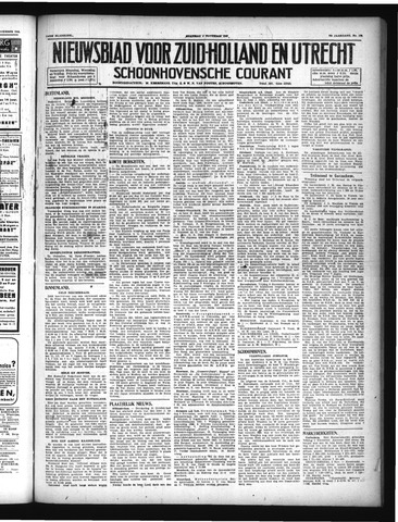 Schoonhovensche Courant 1946-11-04