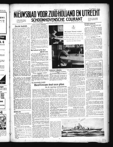 Schoonhovensche Courant 1949-02-18