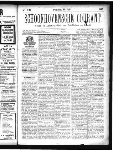 Schoonhovensche Courant 1917-07-10