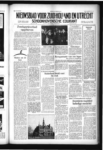 Schoonhovensche Courant 1957-02-06