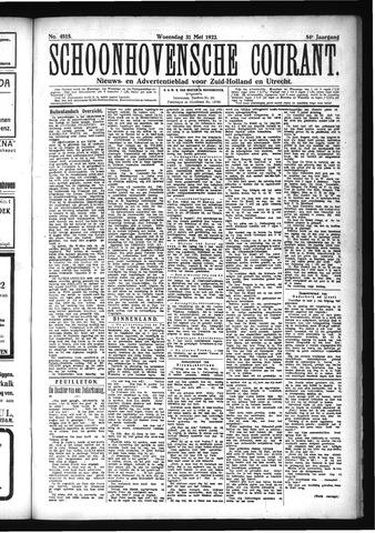 Schoonhovensche Courant 1922-05-31