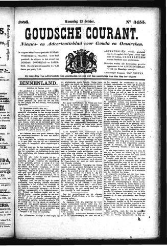 Goudsche Courant 1886-10-13