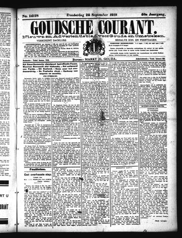 Goudsche Courant 1919-09-25