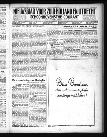 Schoonhovensche Courant 1936-02-19