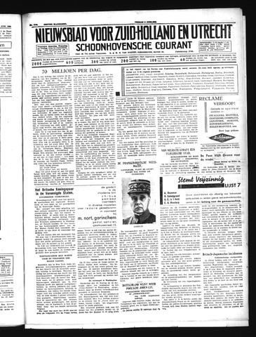 Schoonhovensche Courant 1939-06-09