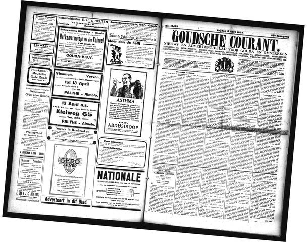 Goudsche Courant 1927-04-08