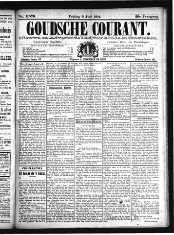 Goudsche Courant 1911-06-09