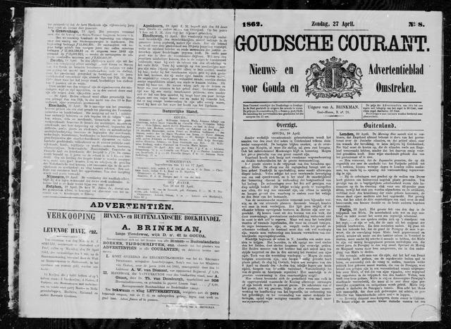 Goudsche Courant 1862-04-27