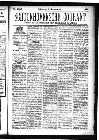 Schoonhovensche Courant 1907-12-21