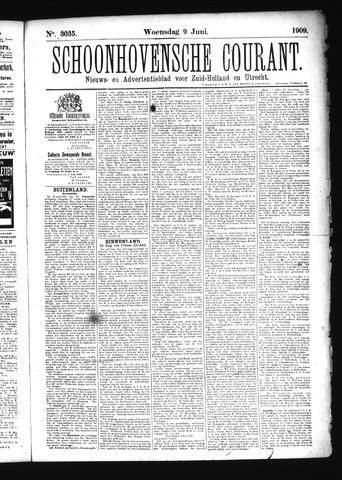 Schoonhovensche Courant 1909-06-09