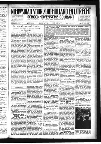 Schoonhovensche Courant 1934-07-13