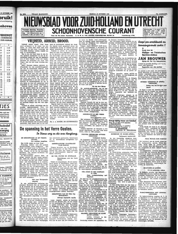 Schoonhovensche Courant 1940-10-18