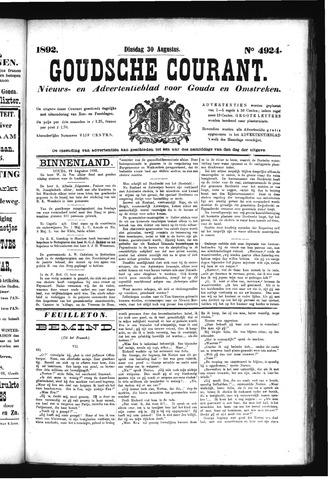Goudsche Courant 1892-08-30