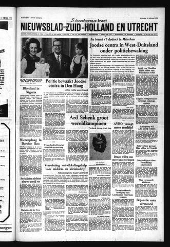 Schoonhovensche Courant 1970-02-16