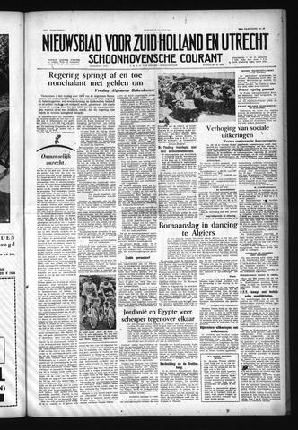 Schoonhovensche Courant 1957-06-12