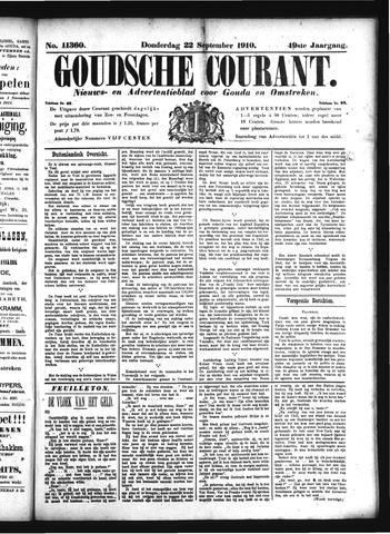 Goudsche Courant 1910-09-22
