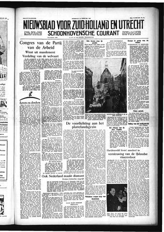 Schoonhovensche Courant 1955-02-23