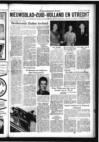 Schoonhovensche Courant 1963-09-23