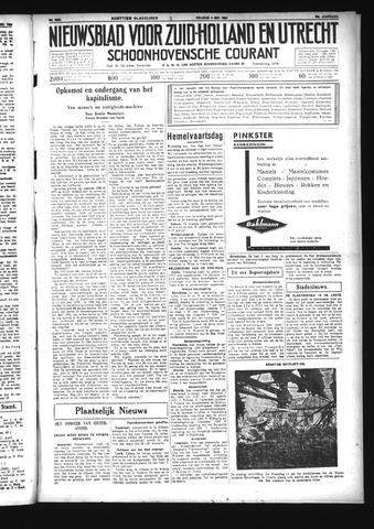 Schoonhovensche Courant 1934-05-04