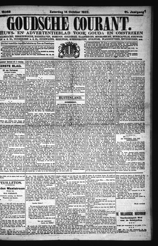 Goudsche Courant 1922-10-14